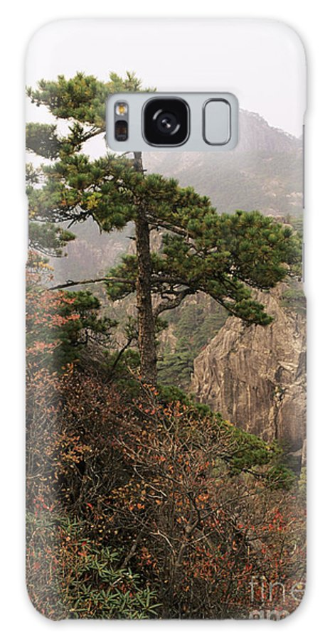 Asian Art Galaxy S8 Case featuring the photograph China, Mt. Huangshan by Larry Dale Gordon - Printscapes