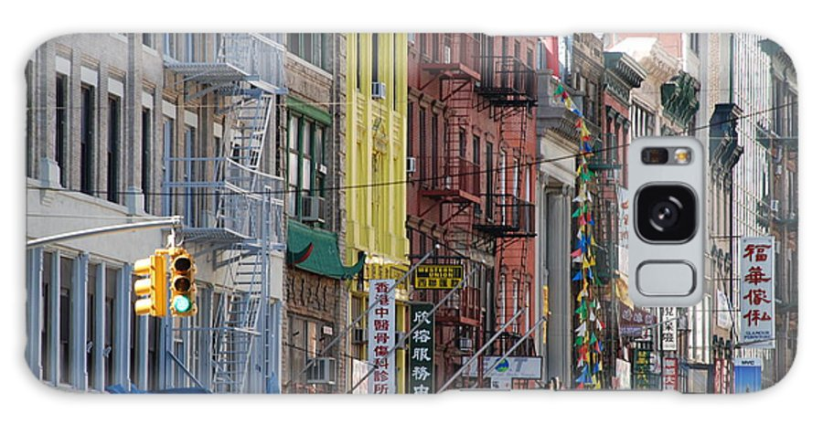 Architecture Galaxy S8 Case featuring the photograph Chinatown Walk Ups by Rob Hans