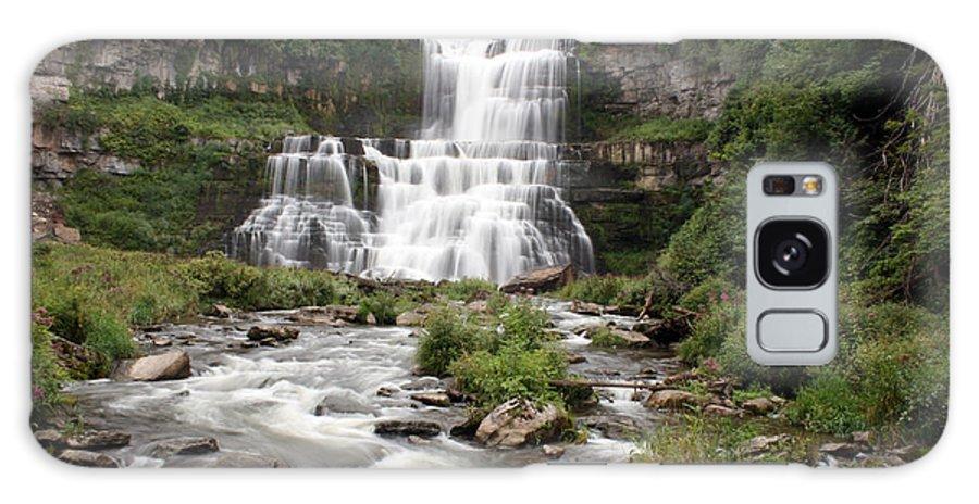 Chittenango Falls Galaxy S8 Case featuring the photograph Chittenango Falls by George Jones