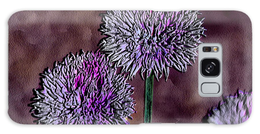 Ebsq Galaxy S8 Case featuring the photograph Chives by Dee Flouton
