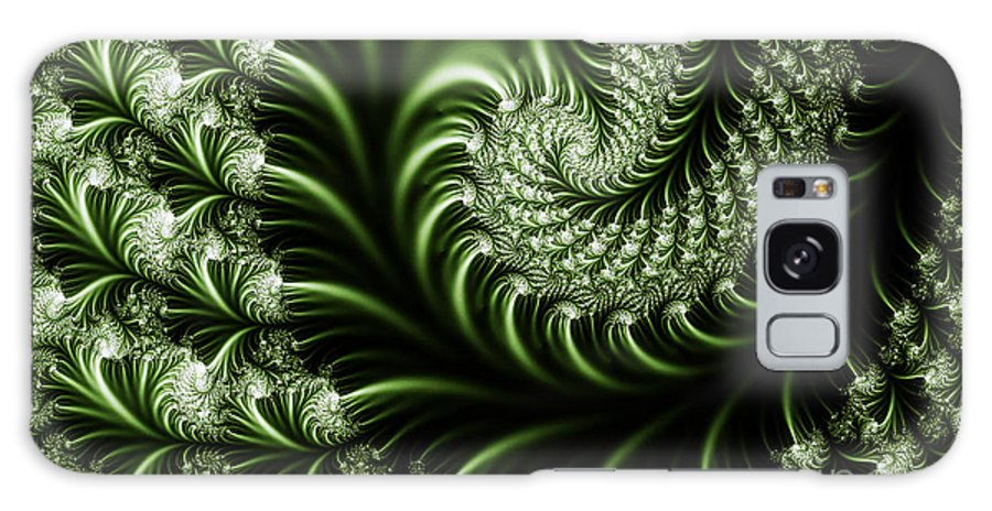 Clay Galaxy Case featuring the digital art Chlorophyll by Clayton Bruster