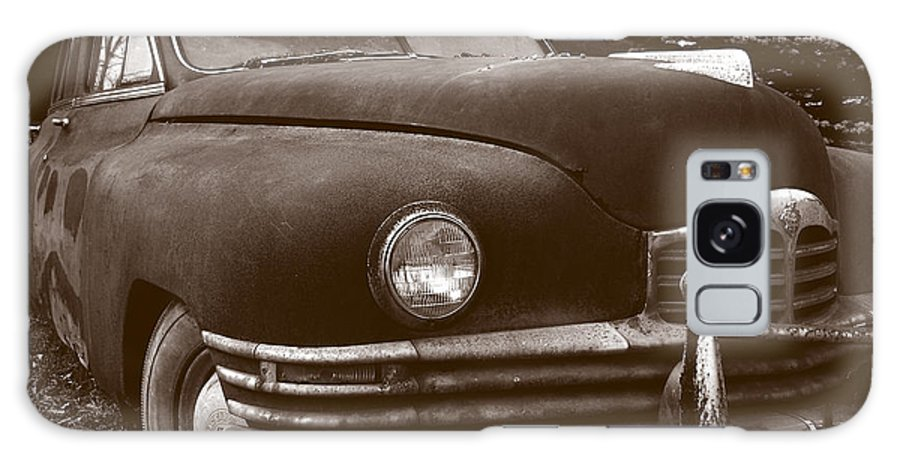 Old Car Galaxy Case featuring the photograph Chocolate Moose by Jean Macaluso