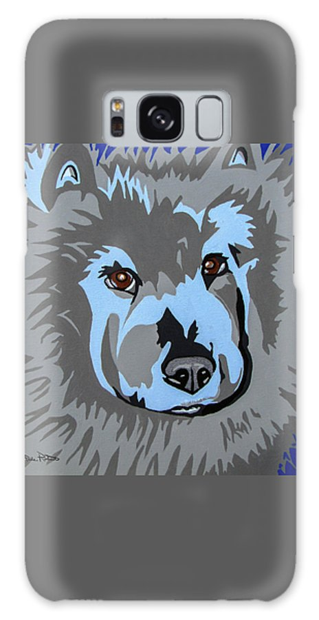 Chow Galaxy S8 Case featuring the painting Chow Chow by Slade Roberts