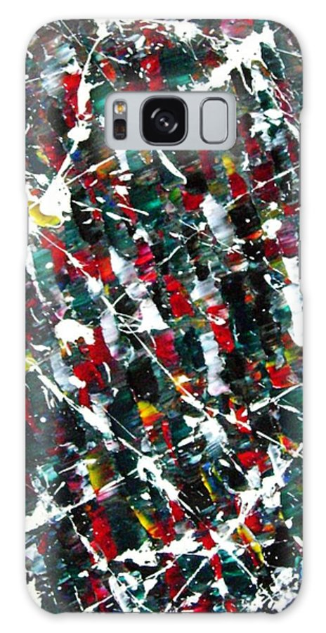 Action Galaxy S8 Case featuring the painting Christmas 1969 by Stephane Trahan
