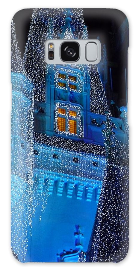 Cinderella Galaxy S8 Case featuring the photograph Christmas Castle by Nora Martinez