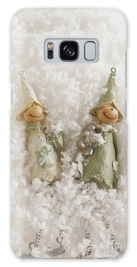 Christmas Elves Galaxy S8 Case featuring the photograph Christmas Elves by Ann Garrett