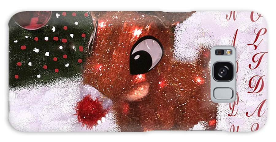 Spirit Of The Holiday Galaxy S8 Case featuring the photograph Christmas Image by Debra   Vatalaro