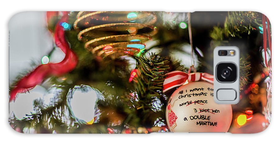 Christmas Balls Galaxy S8 Case featuring the photograph Christmas Martini 4389 by Doug Berry