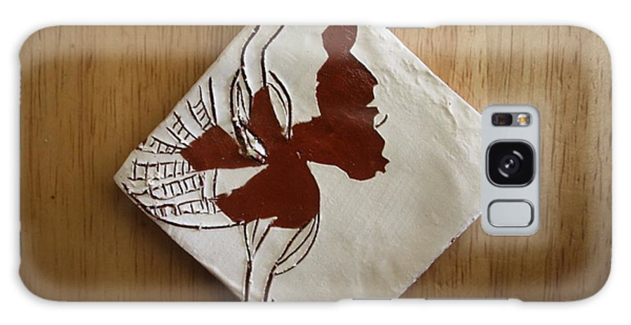Jesus Galaxy S8 Case featuring the ceramic art Christobel - Tile by Gloria Ssali