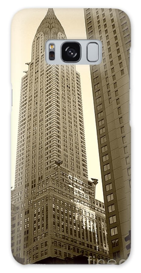 New York Galaxy Case featuring the photograph Chrysler Building by Debbi Granruth