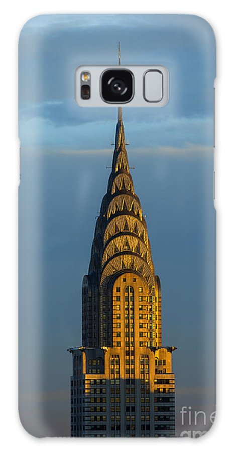 Chrylser Building Galaxy S8 Case featuring the photograph Chrysler Building In The Evening Light by Diane Diederich