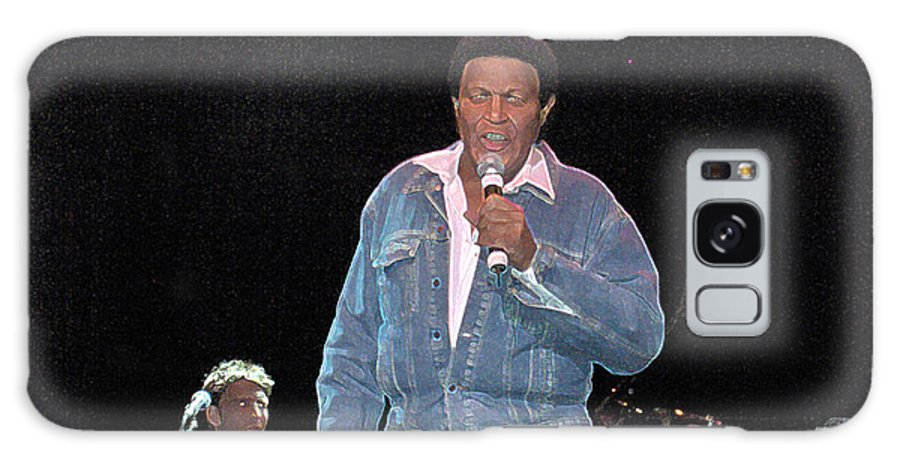 Chubby Checker Singer Bands Music Blues Dance Star Concert Galaxy S8 Case featuring the photograph Chubby Checker by Andrea Lawrence