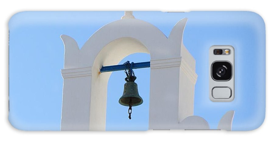 Church. Bell Galaxy S8 Case featuring the photograph Church Bell By The Sea by Michelli Rios-Allen
