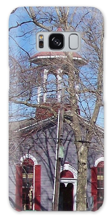 Church Galaxy S8 Case featuring the photograph Church In Woods by Pharris Art