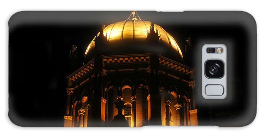 Flagler Memorial Galaxy S8 Case featuring the photograph Church Lights by David Lee Thompson
