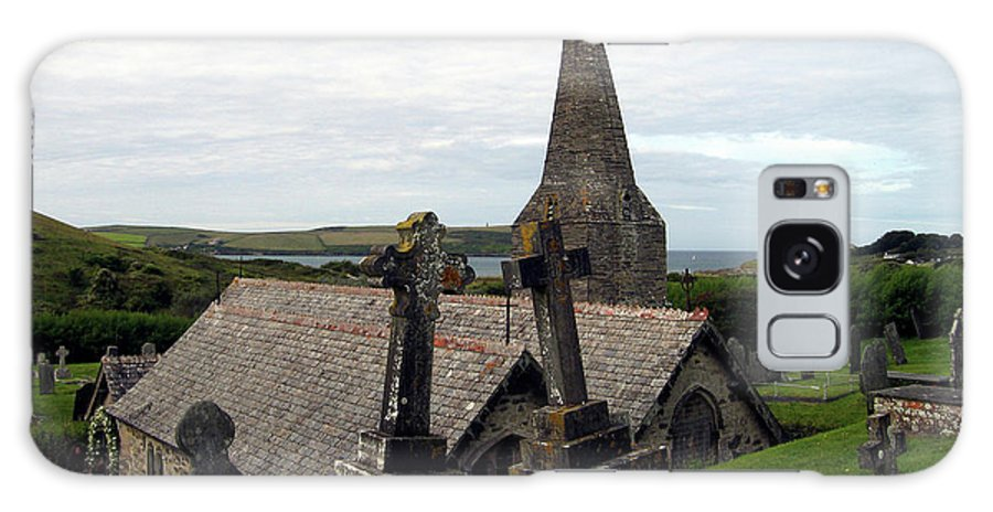 Church Of St. Enodoc Galaxy S8 Case featuring the photograph Church Of St. Enodoc by Kurt Van Wagner