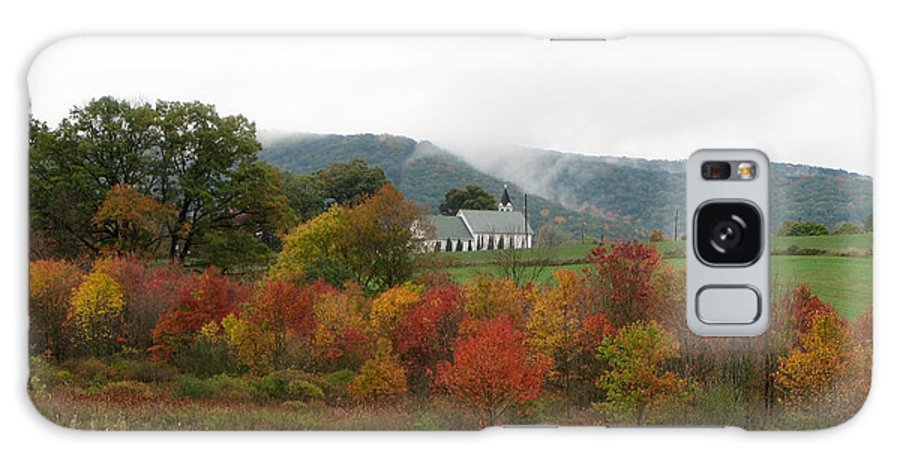 Church Galaxy S8 Case featuring the photograph Church On Autumn Morning by George Jones