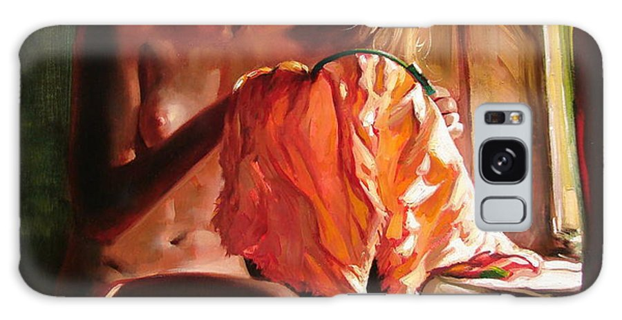 Ignatenko Galaxy Case featuring the painting Cinderella by Sergey Ignatenko