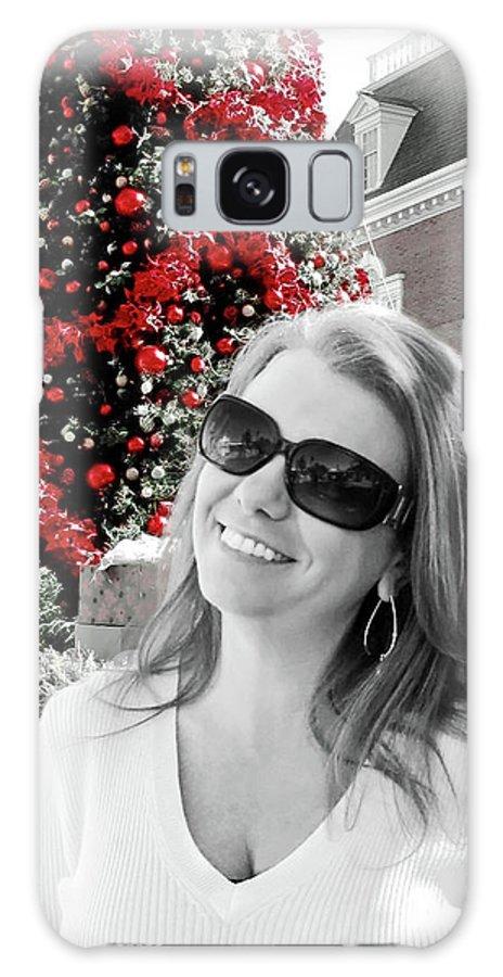 Christmas Galaxy S8 Case featuring the digital art Cindy by Joan Minchak