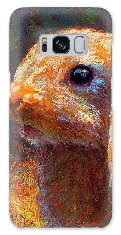 Rita Kirkman Galaxy S8 Case featuring the pastel Cinnabun by Rita Kirkman