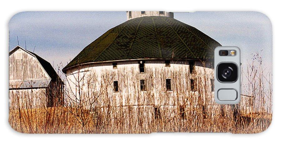 Barn Galaxy Case featuring the photograph Circular by Jeff Barrett