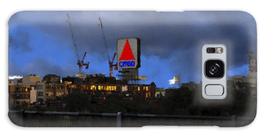Citgo Sign Galaxy S8 Case featuring the digital art Citgo Sign by Edward Cardini