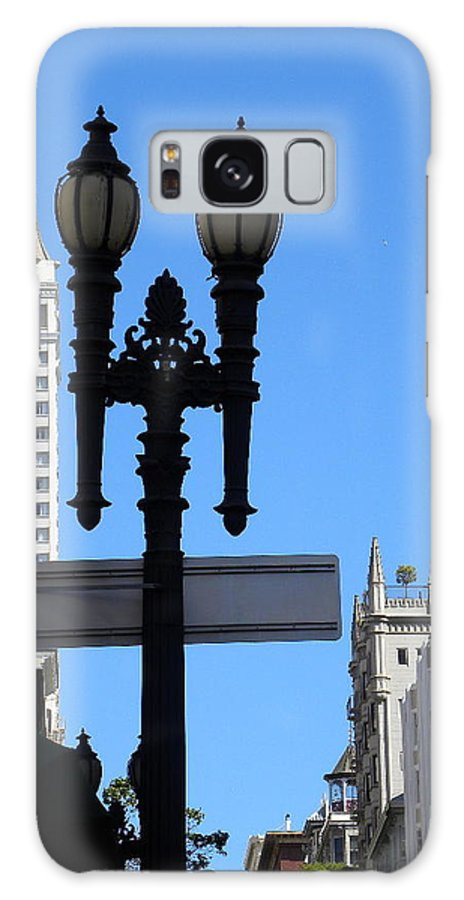 Ligth Galaxy Case featuring the photograph City by Fanny Diaz