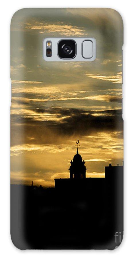 Portland Galaxy S8 Case featuring the photograph City Hall In Relief by Faith Harron Boudreau