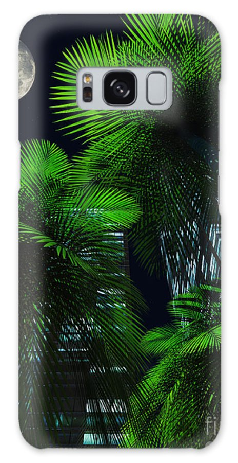 Tropics Galaxy S8 Case featuring the digital art City Nights by Richard Rizzo