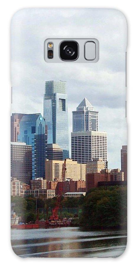 Philadelphia Galaxy S8 Case featuring the photograph City Of Philadelphia by Linda Sannuti