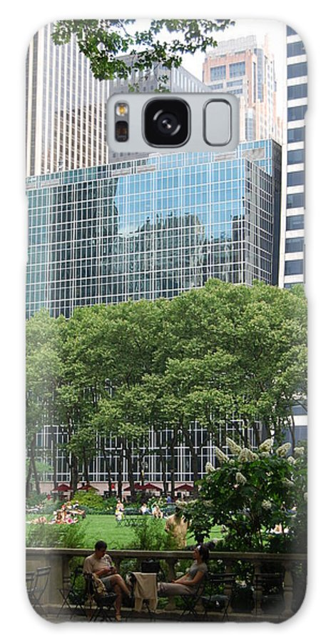 Building Galaxy S8 Case featuring the photograph City Park by Michael L Gentile