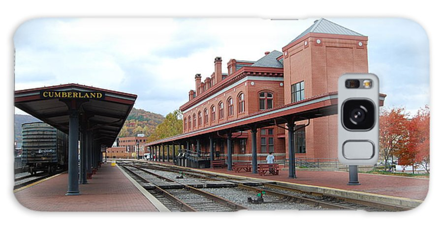 Historic Galaxy S8 Case featuring the photograph Cumberland City Station by Eric Liller