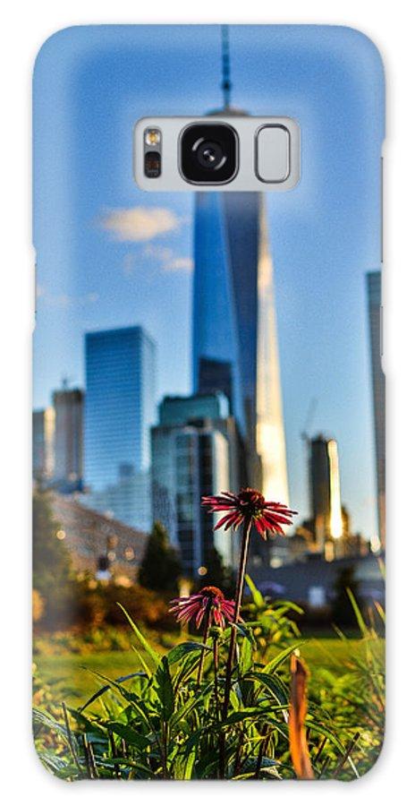 City Galaxy S8 Case featuring the photograph City Vs Nature by Micha Dziekonski