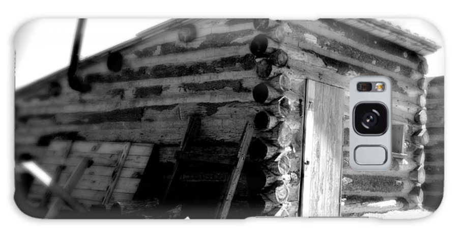 Army Galaxy Case featuring the photograph Civil War Cabin 1 Army Heritage Education Center by Jean Macaluso