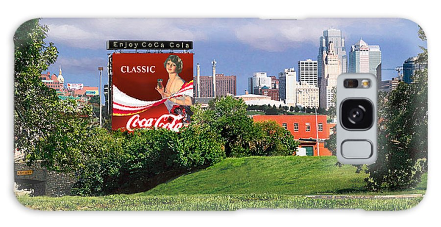 Landscape Galaxy Case featuring the photograph Classic Summer by Steve Karol