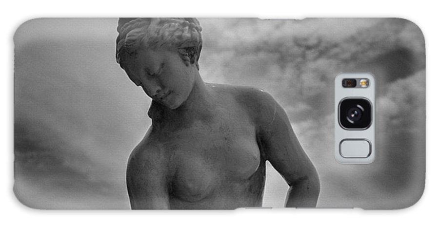 B&w Galaxy S8 Case featuring the photograph Classic Woman Statue by Setsiri Silapasuwanchai