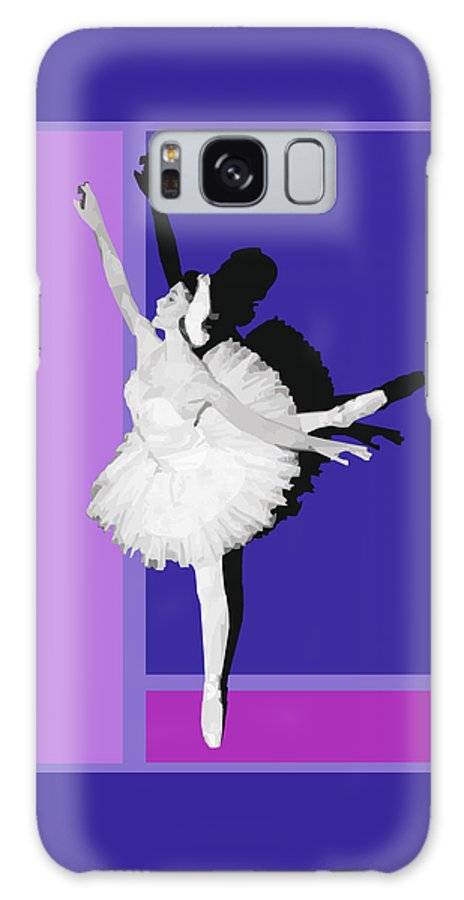 Classical Galaxy S8 Case featuring the digital art Classical Ballet by Joaquin Abella