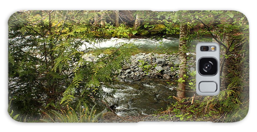 Mountain Galaxy S8 Case featuring the photograph Clear Mountain Stream by Carol Groenen