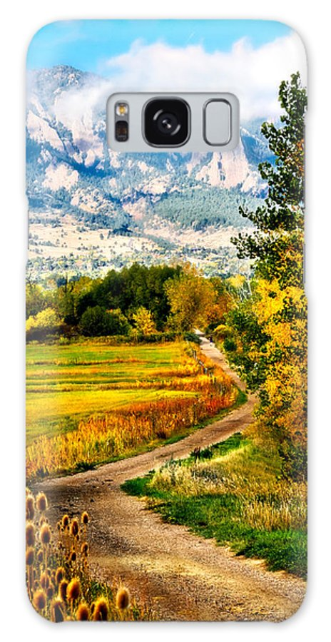 Americana Galaxy Case featuring the photograph Clearly Colorado by Marilyn Hunt