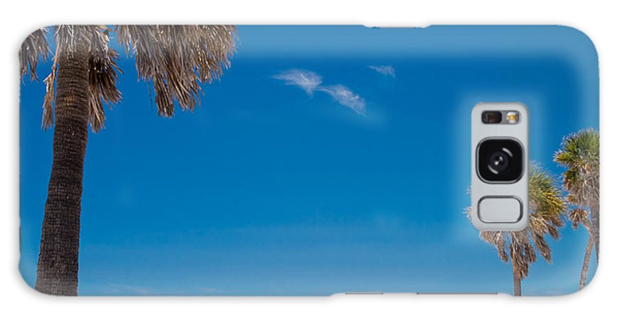 3scape Galaxy Case featuring the photograph Clearwater Beach by Adam Romanowicz