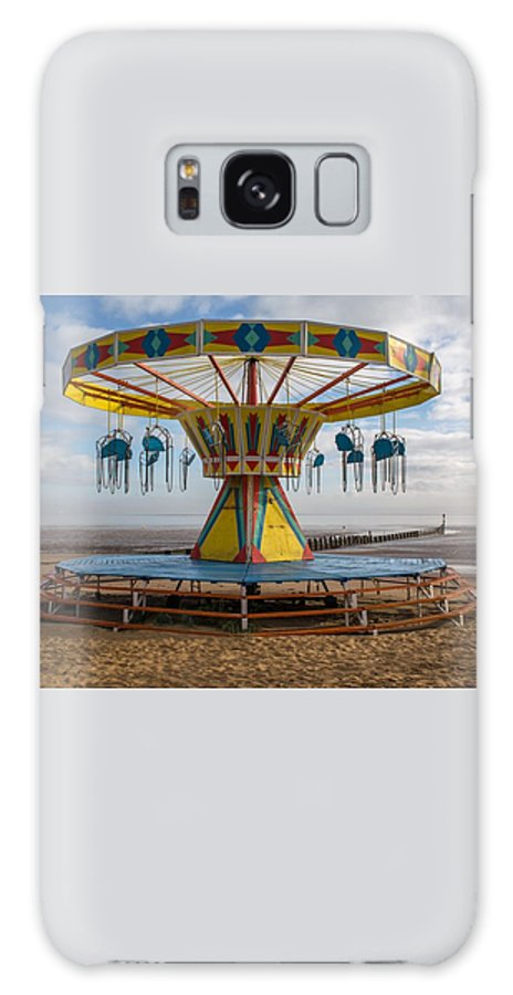 Beach Galaxy S8 Case featuring the photograph Cleethorpes Beach by Gill Kennett