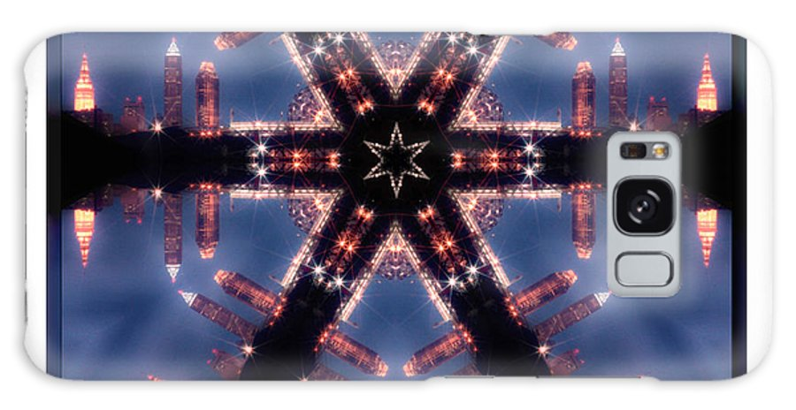 Cleveland Galaxy S8 Case featuring the photograph Cleveland Kaleidoscope II by Kenneth Krolikowski