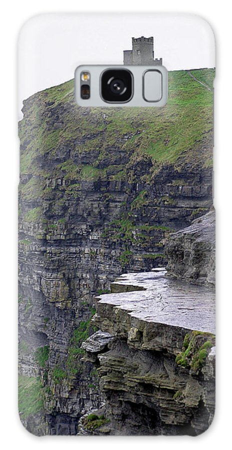 Cliff Galaxy S8 Case featuring the photograph Cliffs Of Moher Ireland by Charles Harden