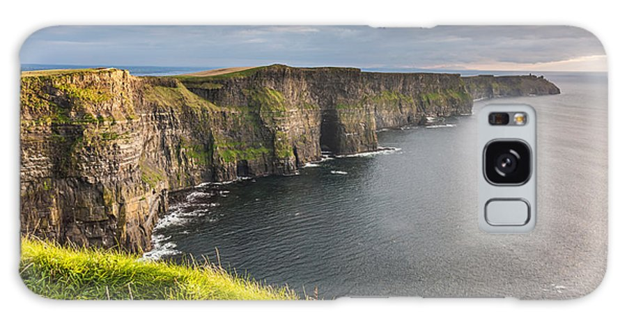 Cliffs Of Moher Galaxy S8 Case featuring the photograph Cliffs Of Moher On The West Coast Of Ireland by Pierre Leclerc Photography