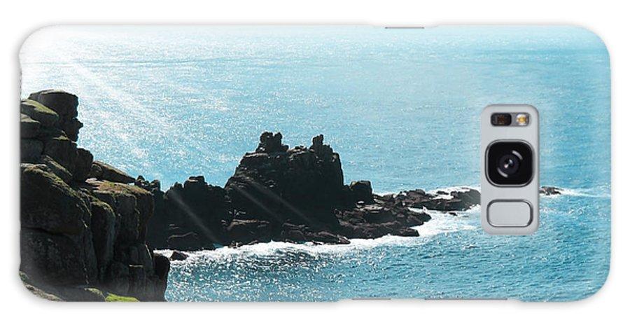 Aqua Galaxy S8 Case featuring the photograph Cliffs by Svetlana Sewell