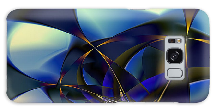 Fractal Galaxy S8 Case featuring the digital art Closest Stars by Vicky Brago-Mitchell