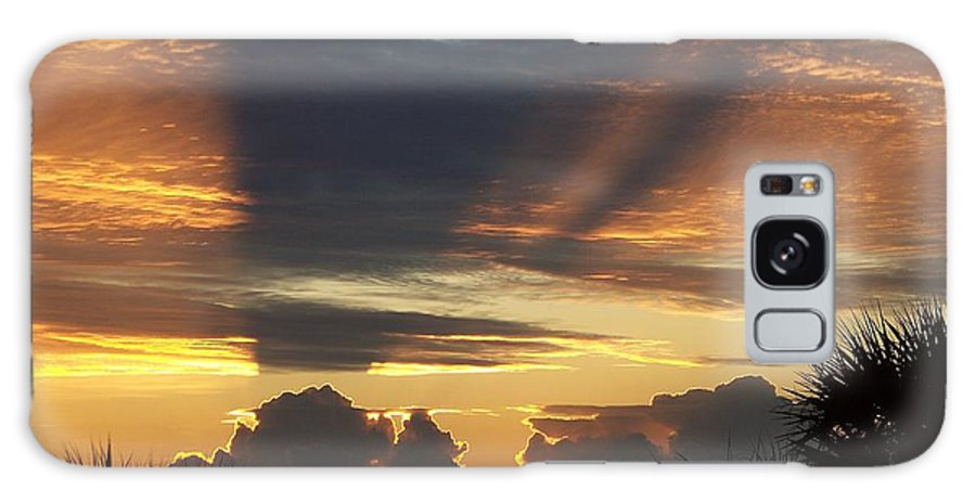 Sunsets Galaxy S8 Case featuring the photograph Cloud Cast Glory by Karen Wiles