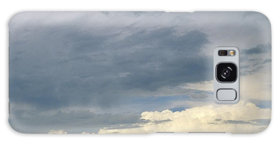 Storm Clouds Galaxy Case featuring the photograph Cloud Cover by Erin Paul Donovan
