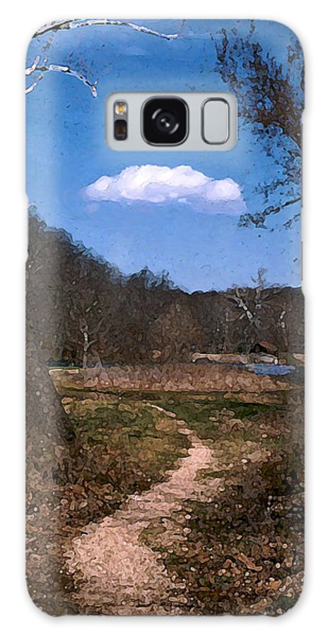 Landscape Galaxy S8 Case featuring the photograph Cloud Destination by Steve Karol