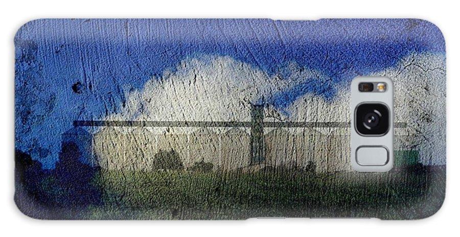 Silo Galaxy S8 Case featuring the digital art Cloud Silo by Derick Burke